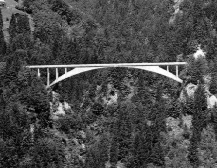 Salginatobel Bridge by Robert Maillart