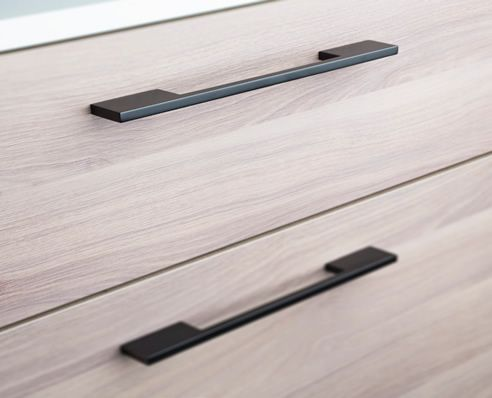 black anodised drawer handle black handles black knobs and