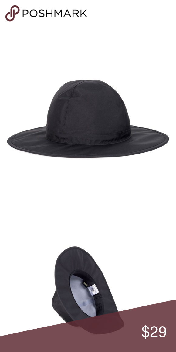 50758e62180 Black Herschel Waterproof Rambler Rain Hat Would love to keep this but I  have a kid