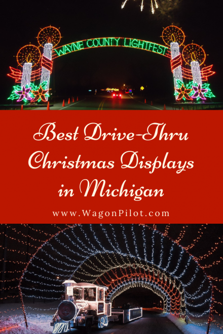 Best DriveThru Christmas Light Displays in Michigan