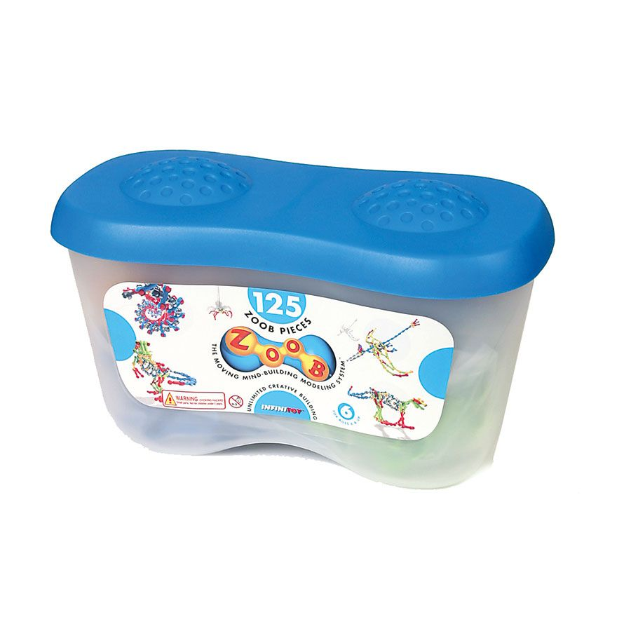 Zoob 125 Piece Bucket Toys Quot R Quot Us Australia Official Site