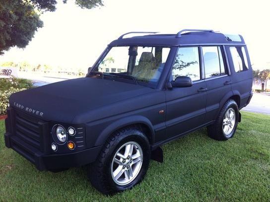 2002 Land Rover Discovery Crazy Custom Headlights I