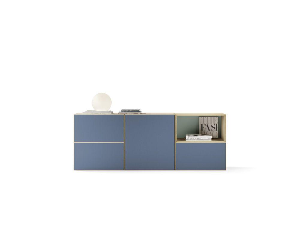 Credenza Perth Wa : Lauki sideboard in oak moss green and sapphire. #lauki #collection