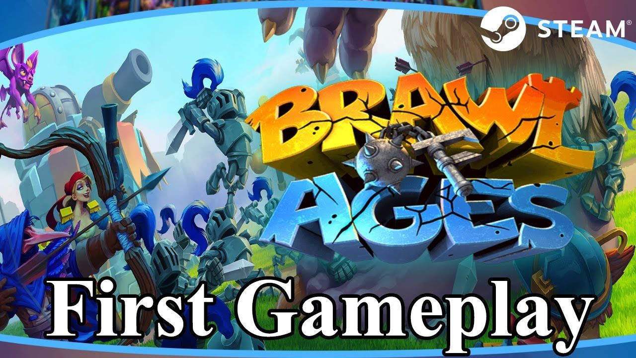Brawl of Ages Watcha Playin'? First Gameplay Strategy Game