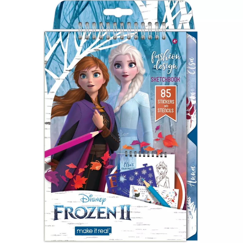Disney Frozen 2 Fashion Design Sketchbook Fashion Design Sketchbook Sketch Book Disney Frozen