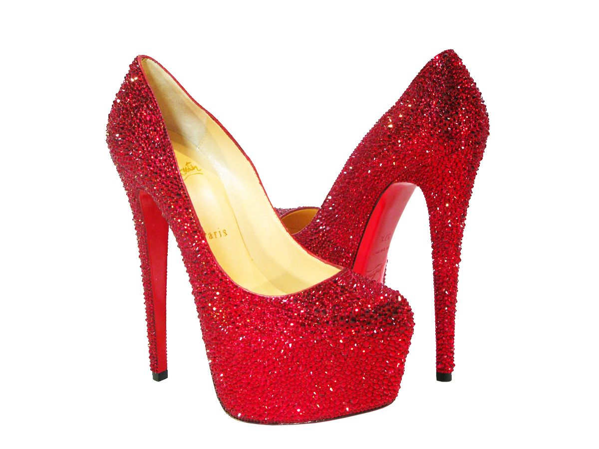 00b3ef8deb3c Dorothy Shoes.  ) Christian Louboutin Daffodile Limited Edition Red ...