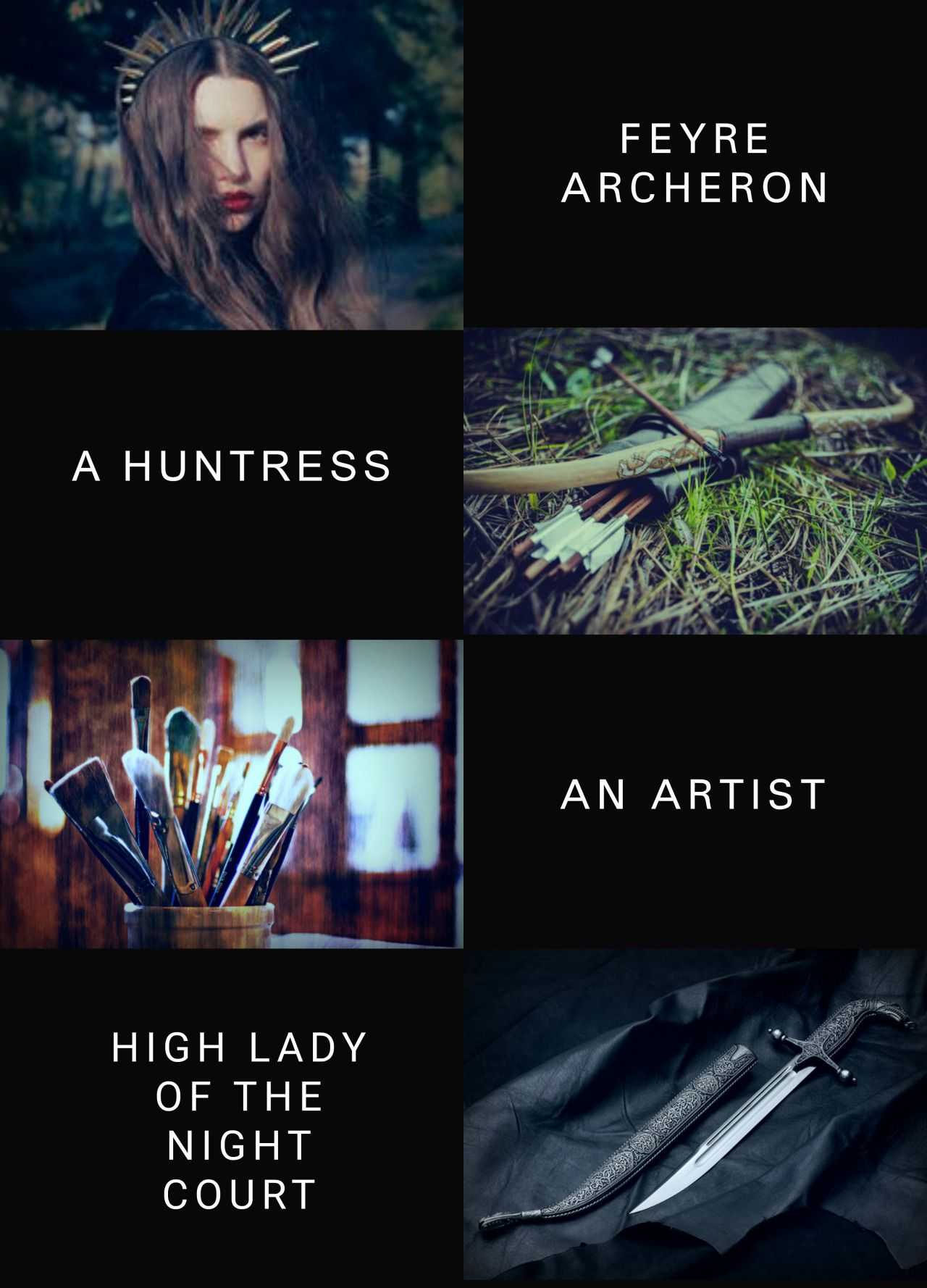 The huntress with an artists soul