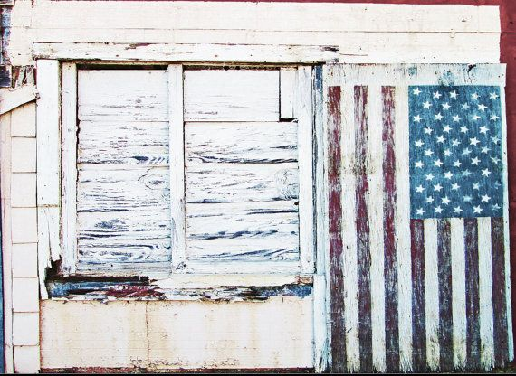 American Flag Door On Historic Town Wall.South Georgia Landscape  Architecture Digital Download Photography.