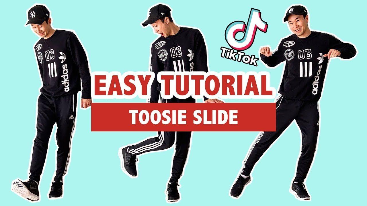 How to toosie slide easy tutorial tik tok dance in
