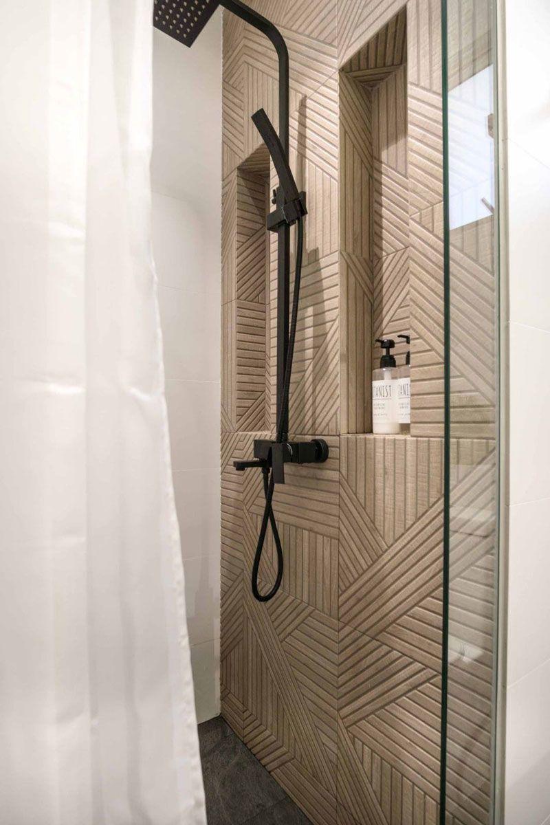 7 Stylish Shower Storage Solutions For Toiletries In 2020 Shower Storage Solutions Shower Storage Niche Design