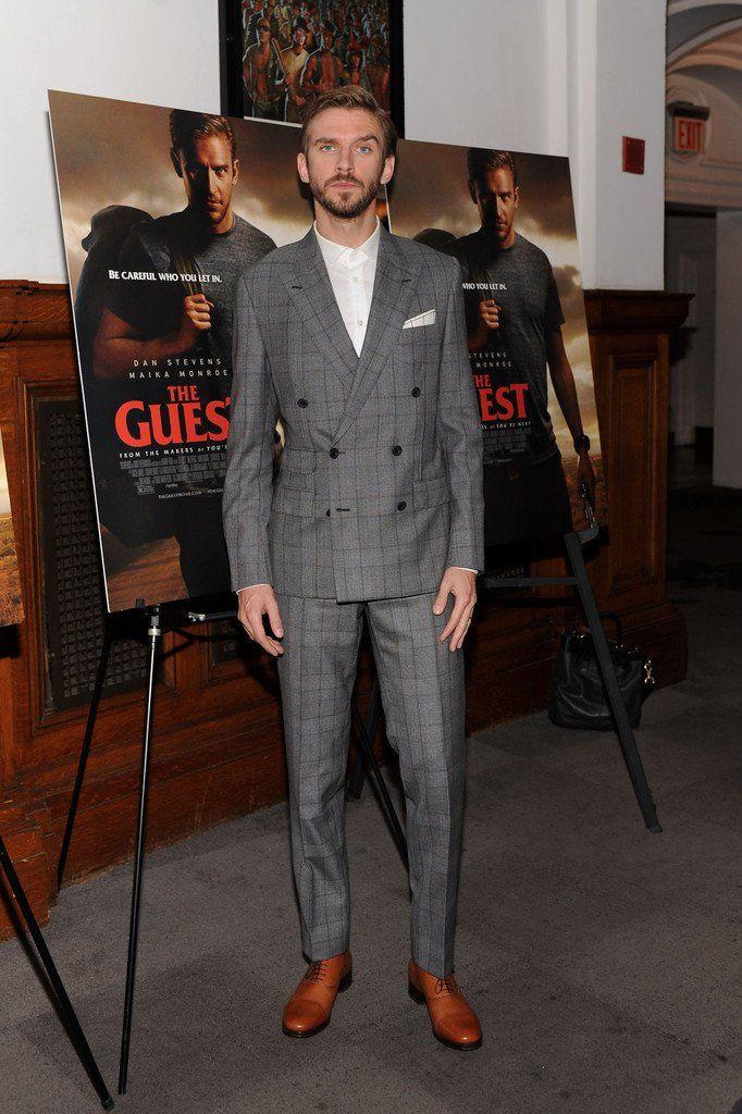 Dan Stevens Cleans Up in Prince of Wales Suit for The Guest Screening image Dan Stevens 001
