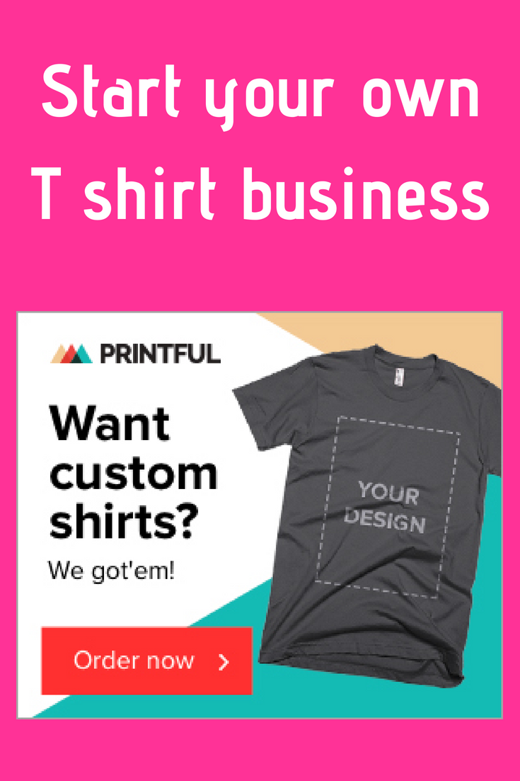 Start Your Own T Shirt Business Make Money From Home Student