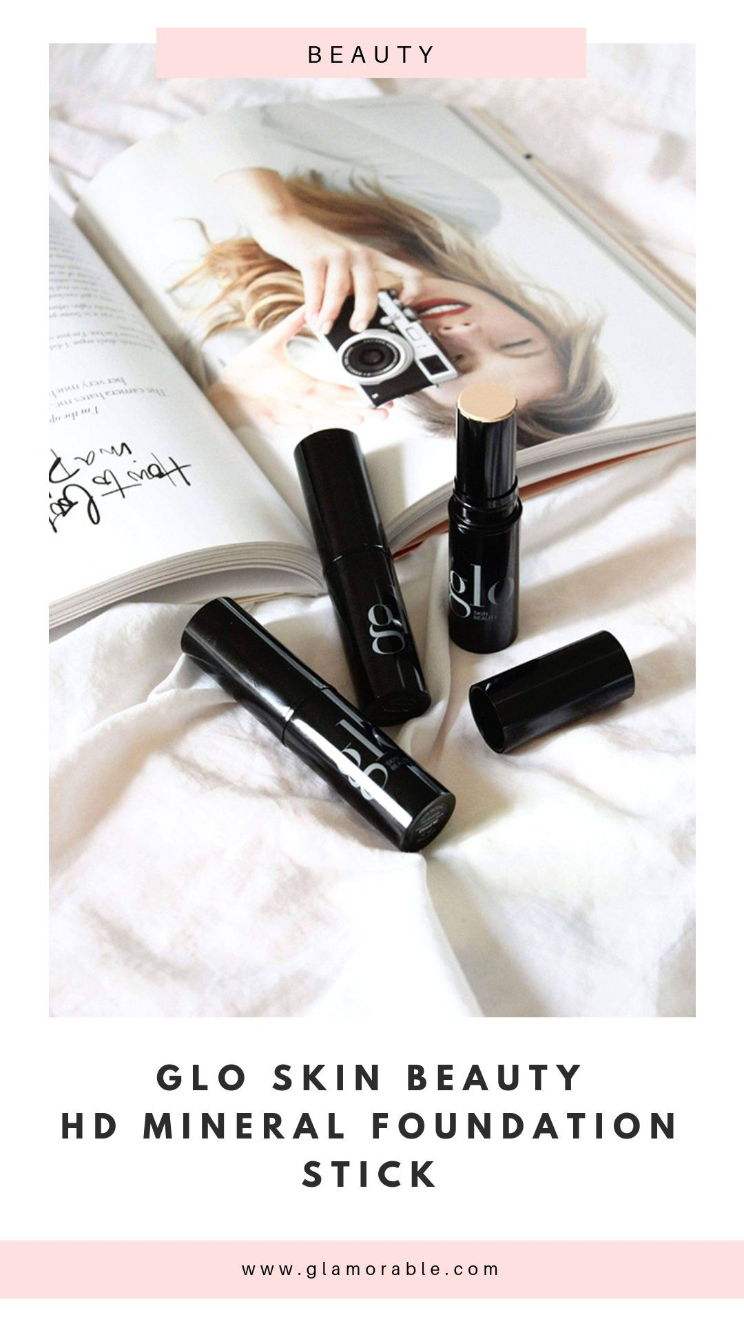 Glo Skin Beauty HD Mineral Foundation Stick Review