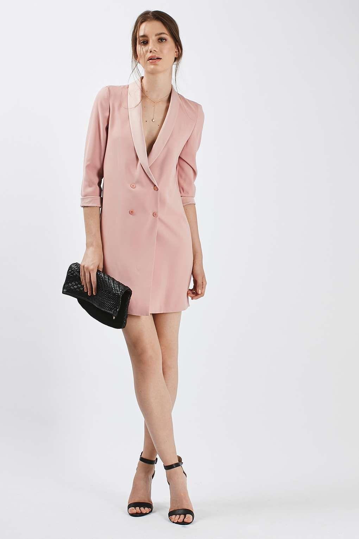 Pink dress topshop  Soft Tailored Blazer Dress  THE FASHION GIRL  We Love  Topshop