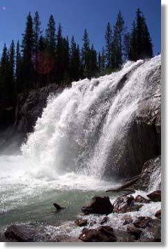 Upper Bugaboo Falls,Bugaboo Creek