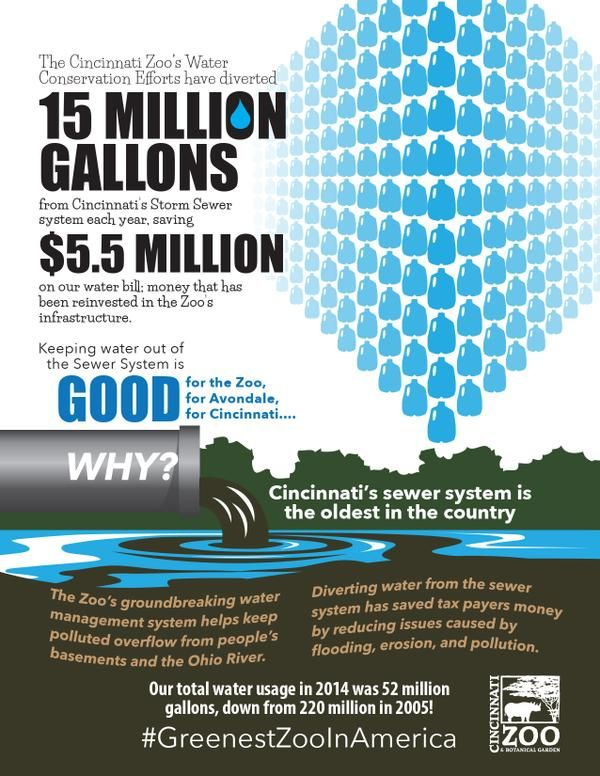 Zoo Saves One Billion Gallons Of Water Through Conservation And Rainwater Harvesting