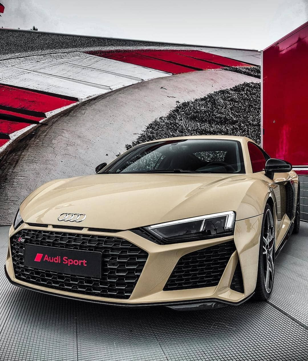 Rare Beige Audi R8 Performance Rate This Audi From 1 100 Get 10 Discount For Audi Tuning Parts By Ultimatecustomsuk Audi R8 Super Sport Cars Audi Cars