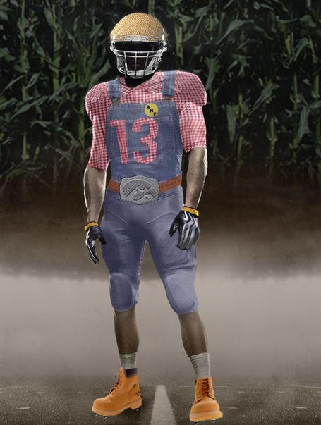 Too Funny Not To Share Even If It Is A Year Old Iowa Football Unis