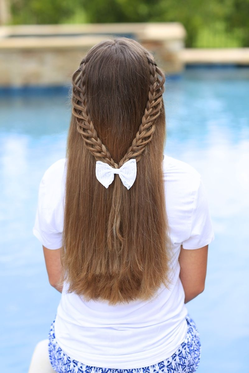 Terrific 1000 Images About Cgh On Pinterest Long Hairstyles Bow Braid Short Hairstyles Gunalazisus