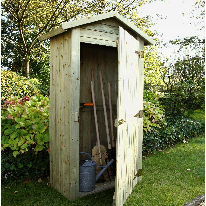 Armoire de jardin Leroy merlin 279€ 126x66cm | Jardin | Pinterest ...