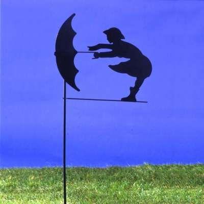 La girouette en métal noir Décoration | jardin | Pinterest | Barn ...