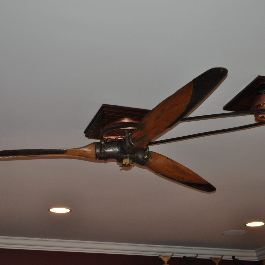 Airplane Propeller Ceiling Fan With Light Propeller Ceiling Fan Antique Ceiling Fans Ceiling Fan With Light