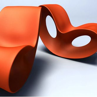 Ron Arad Voido Rocking Chair | funky | Pinterest | Kunst