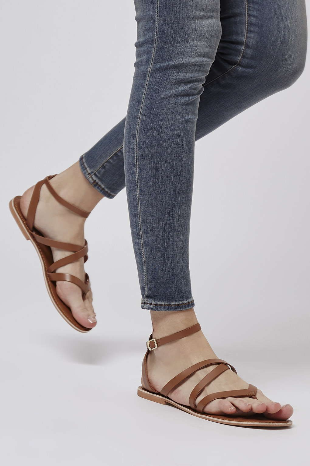 9eb961f9054d Photo 2 of HERCULES Strappy Leather Sandals