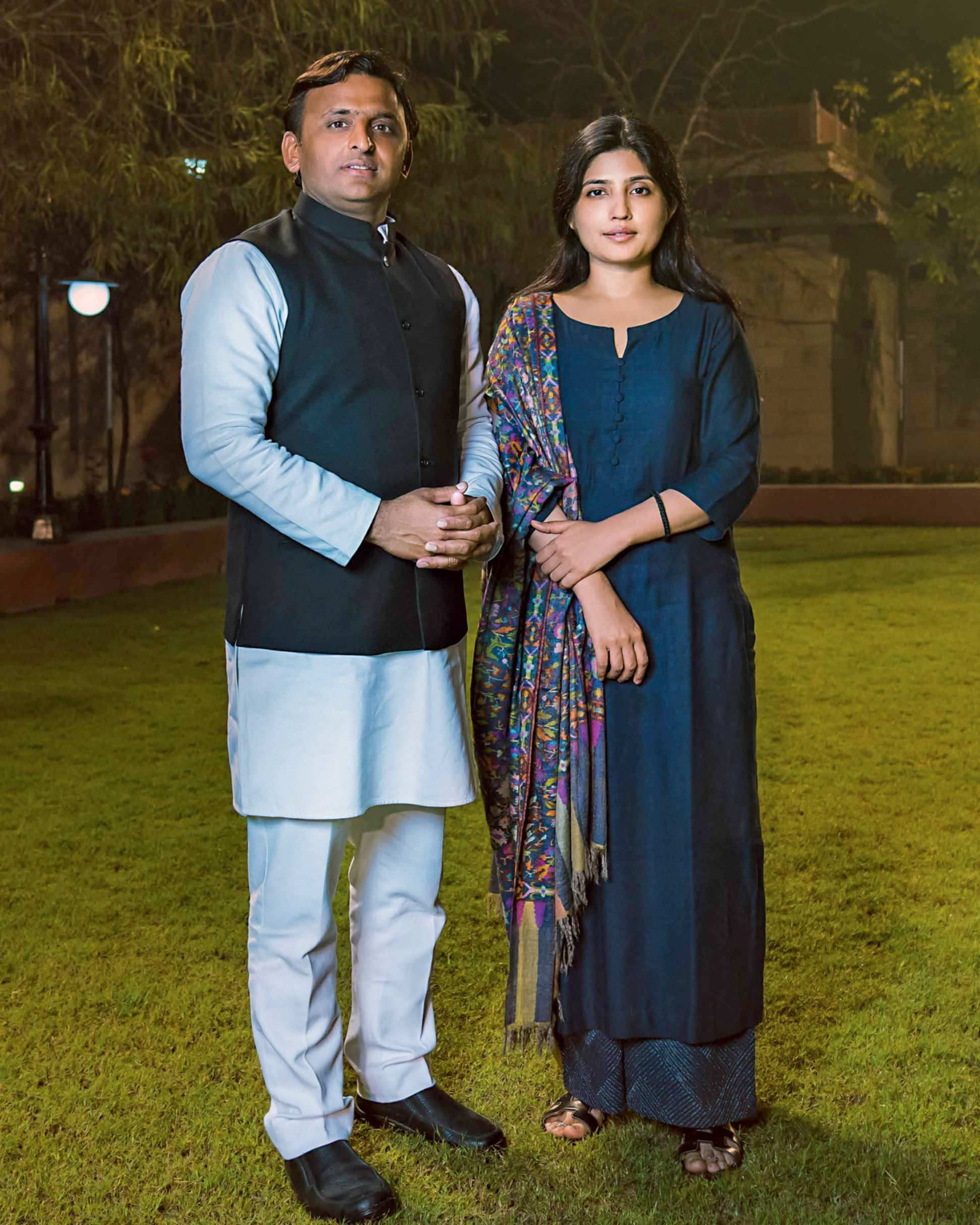 """Politics is Serious Business–AkhileshYadav"""" """"I am a Politician in the Making""""–DimpleYadav"""