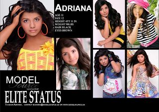 Pin On Model Comp Cards Examples