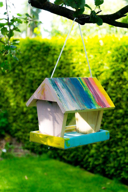 ombr vogelhaus bauen diy inspirationen vogelhaus. Black Bedroom Furniture Sets. Home Design Ideas