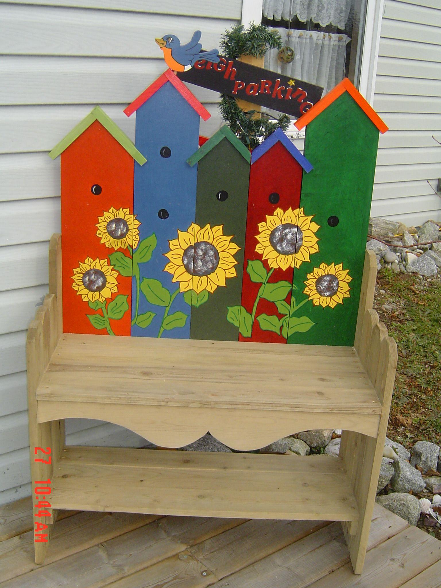 Birdhouse Bench We Make