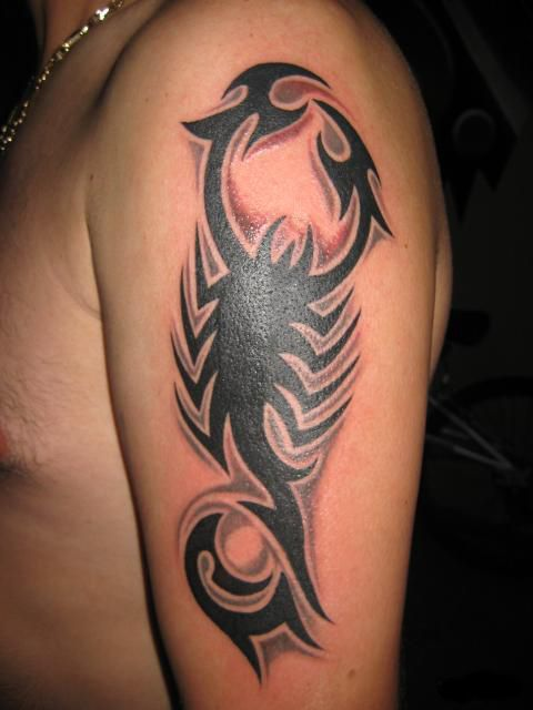 30 Tribal Scorpion Tattoo Designs Ideas Tattoo S Life Tribal Tattoos For Men Tattoos For Guys Tribal Tattoos