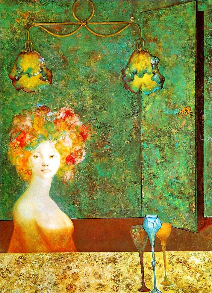 Leonor Fini「The Unsealed Room」
