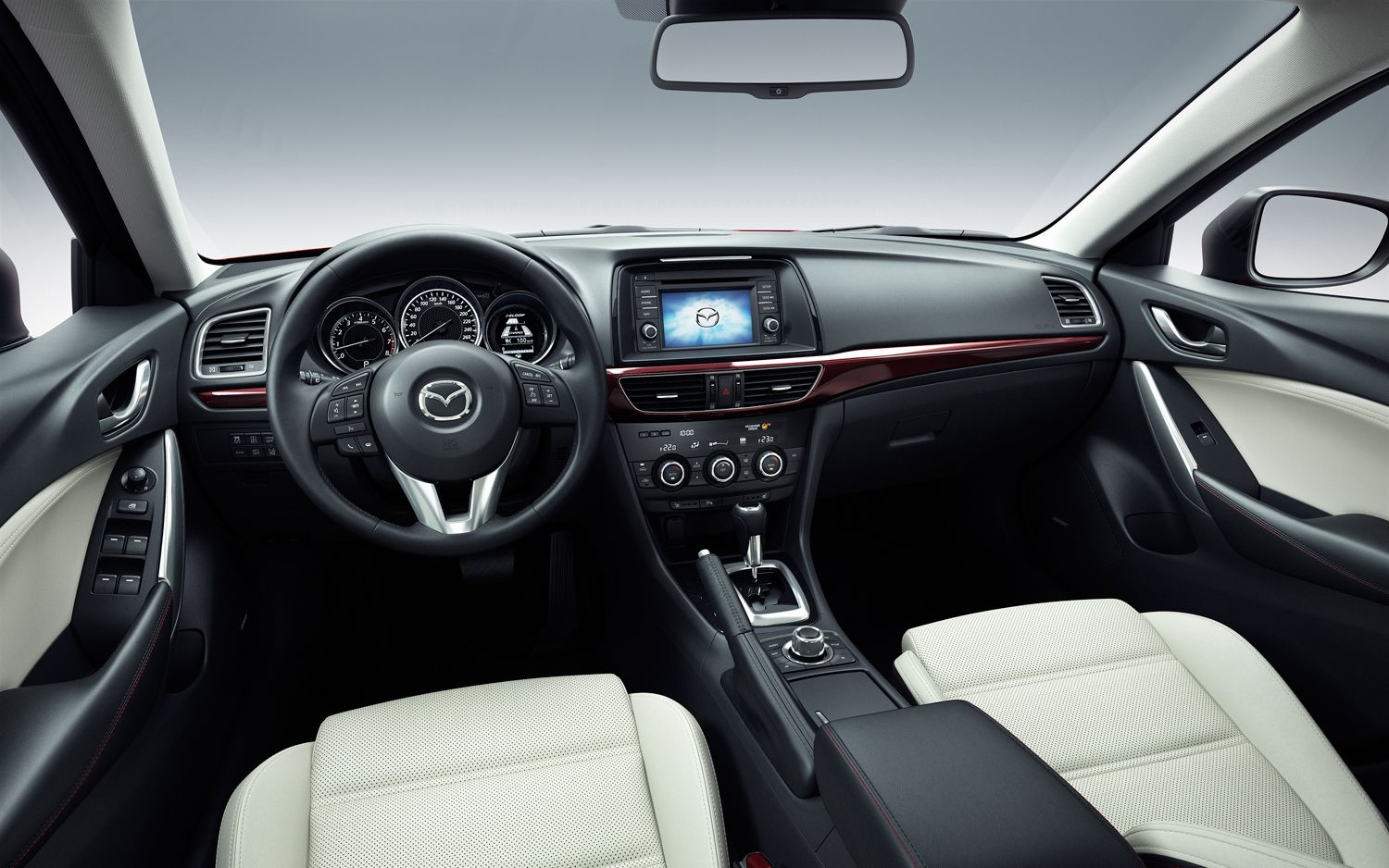 Mazda6 Interior named in Wards Auto\'s Top 10 for this year. | Mazda ...