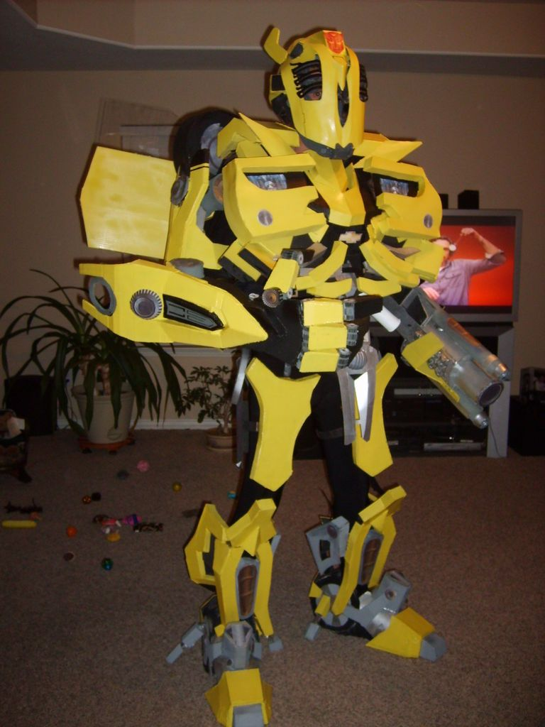 diy Transformers BumbleBee Costume | Share Your Craft | Pinterest ...
