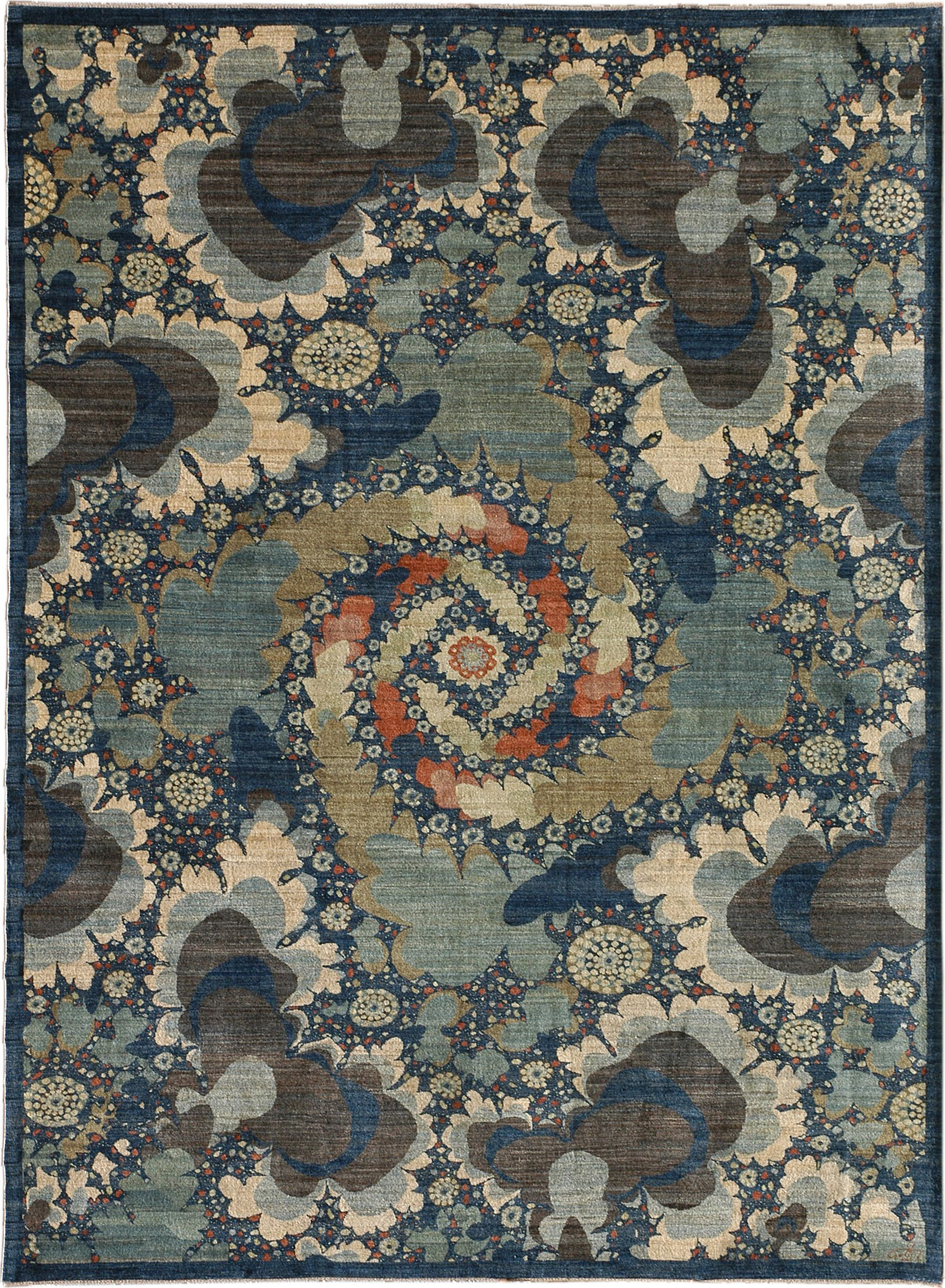 Nocturne 9 3 X 12 4 Contemporary Persian Rug From Orley Shabahang In 2020 Contemporary Persian Rugs Rugs On Carpet Antique Carpets
