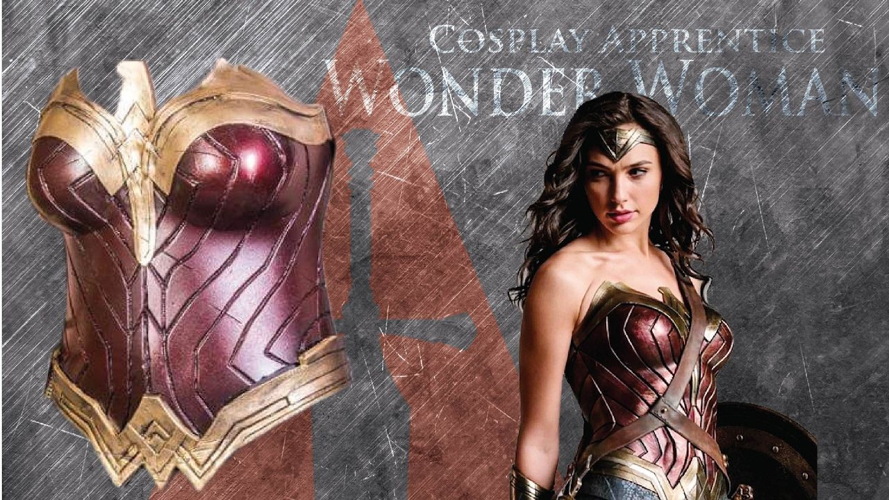 6d1521749f9b How to make Wonder Woman Cosplay Armor - Wonder Woman Breastplate - YouTube