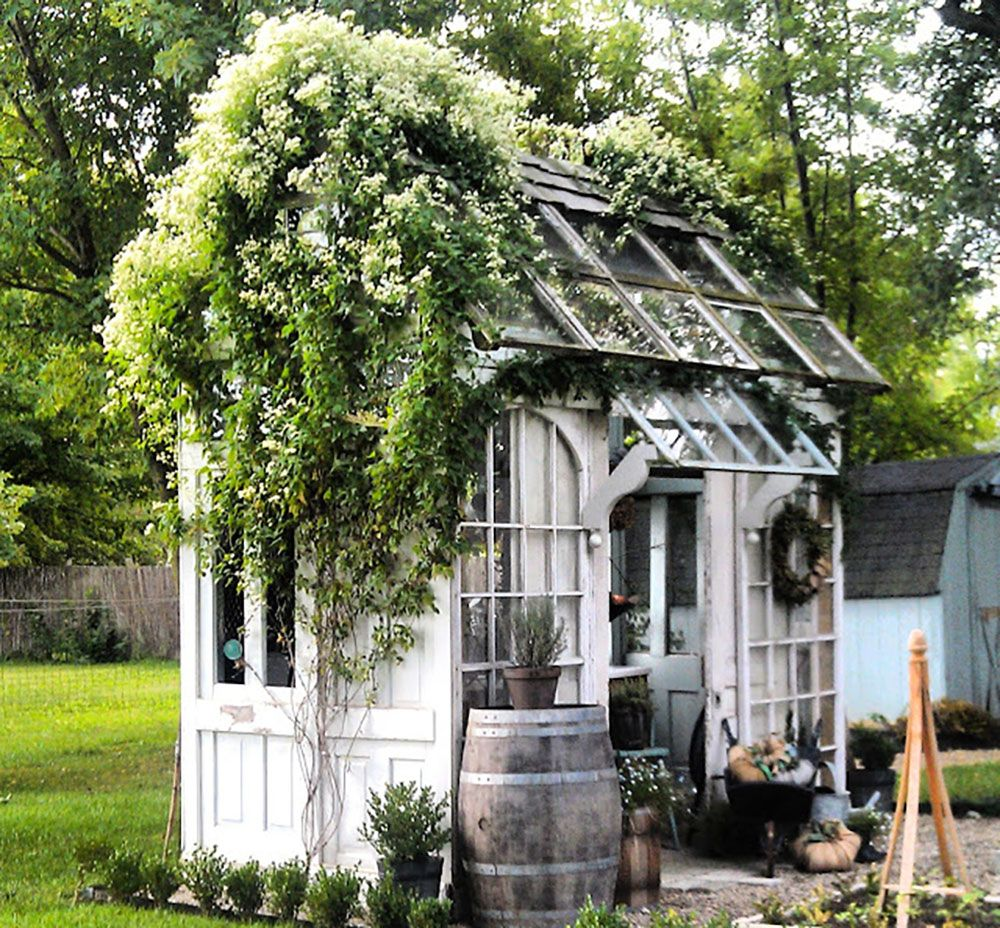 Photo of 15 Fabulous Greenhouses Made From Old Windows – Off Grid World