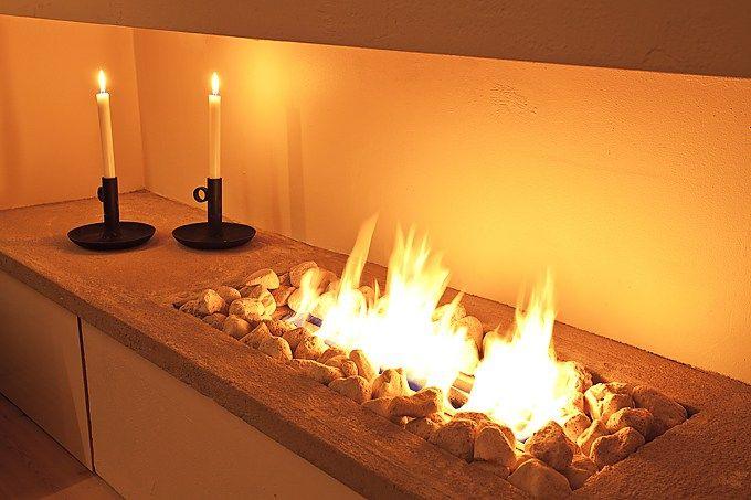 un saln con chimenea de bioetanol decoracin salones decoracin pisos pequeos decoracin dplex chimeneas modernas chimenea - Chimenea De Bioetanol