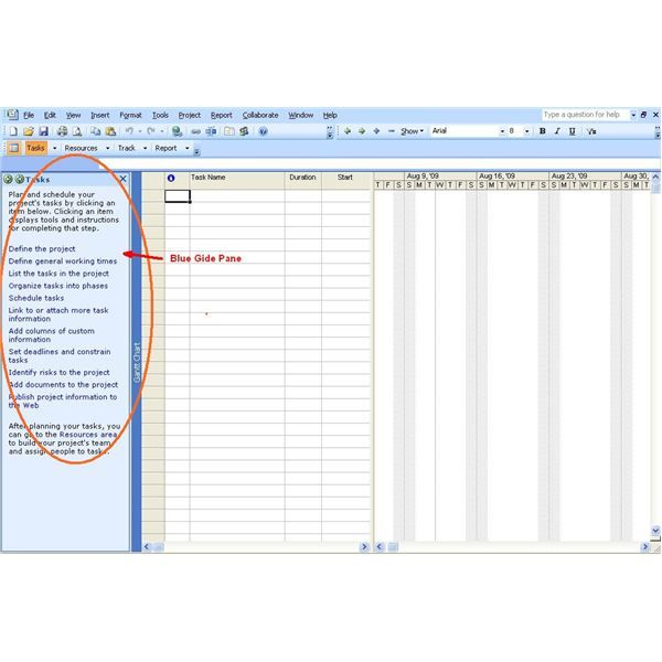Ms Project Tutorial How To Start A Project In Microsoft Project Microsoft Project Projects Microsoft