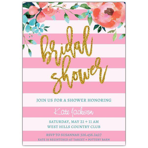 Shimmerfloralbridalshowerinvite jenna shower invites shimmerfloralbridalshowerinvite filmwisefo