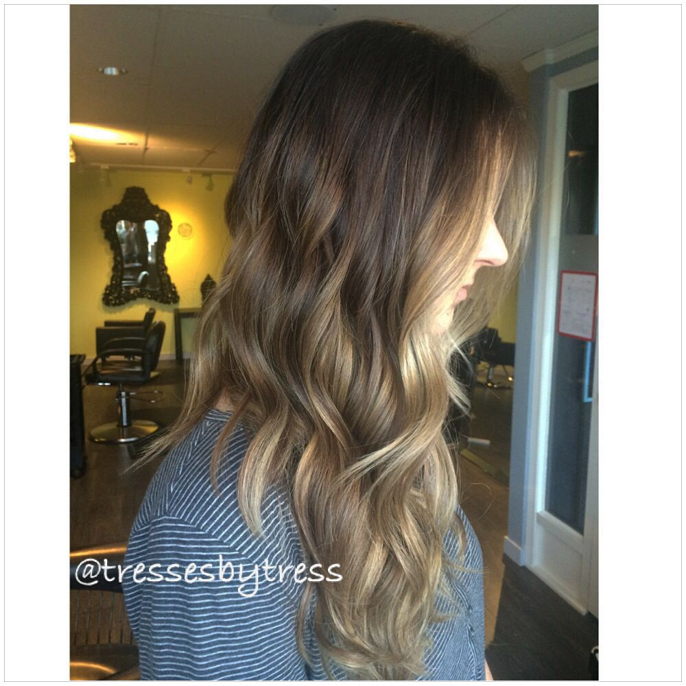 Wallpapers Ombre Hair Brown To Caramel Blonde Straight