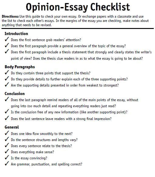 Opinion Essay Essay Writing Skills Persuasive Essay Topics