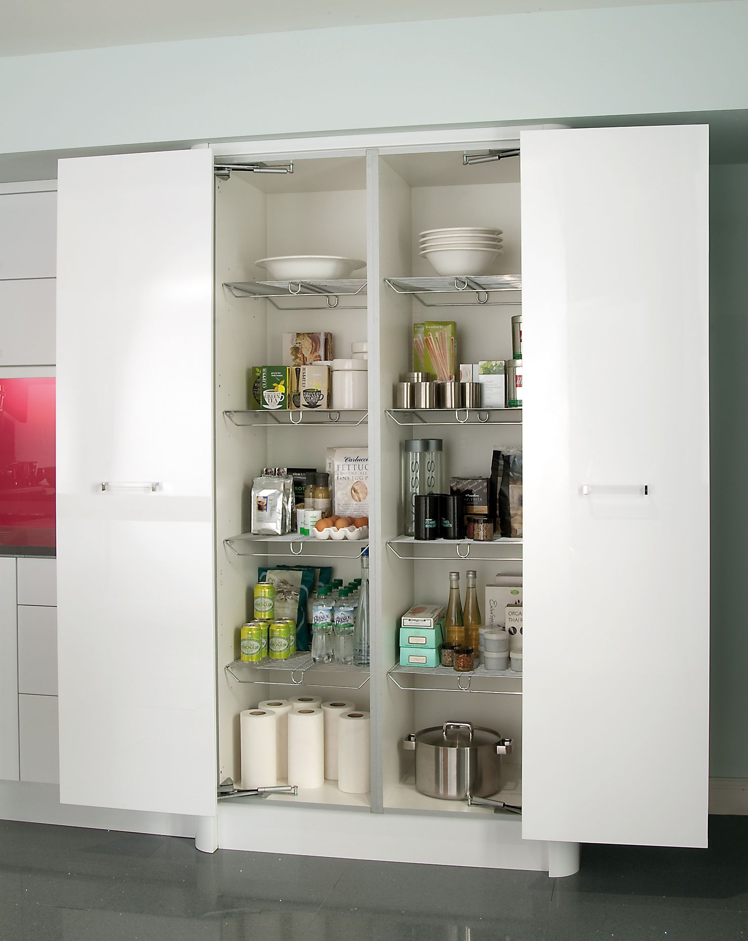 Lateral Opening Larder #storage #solutions   Extension   Pinterest