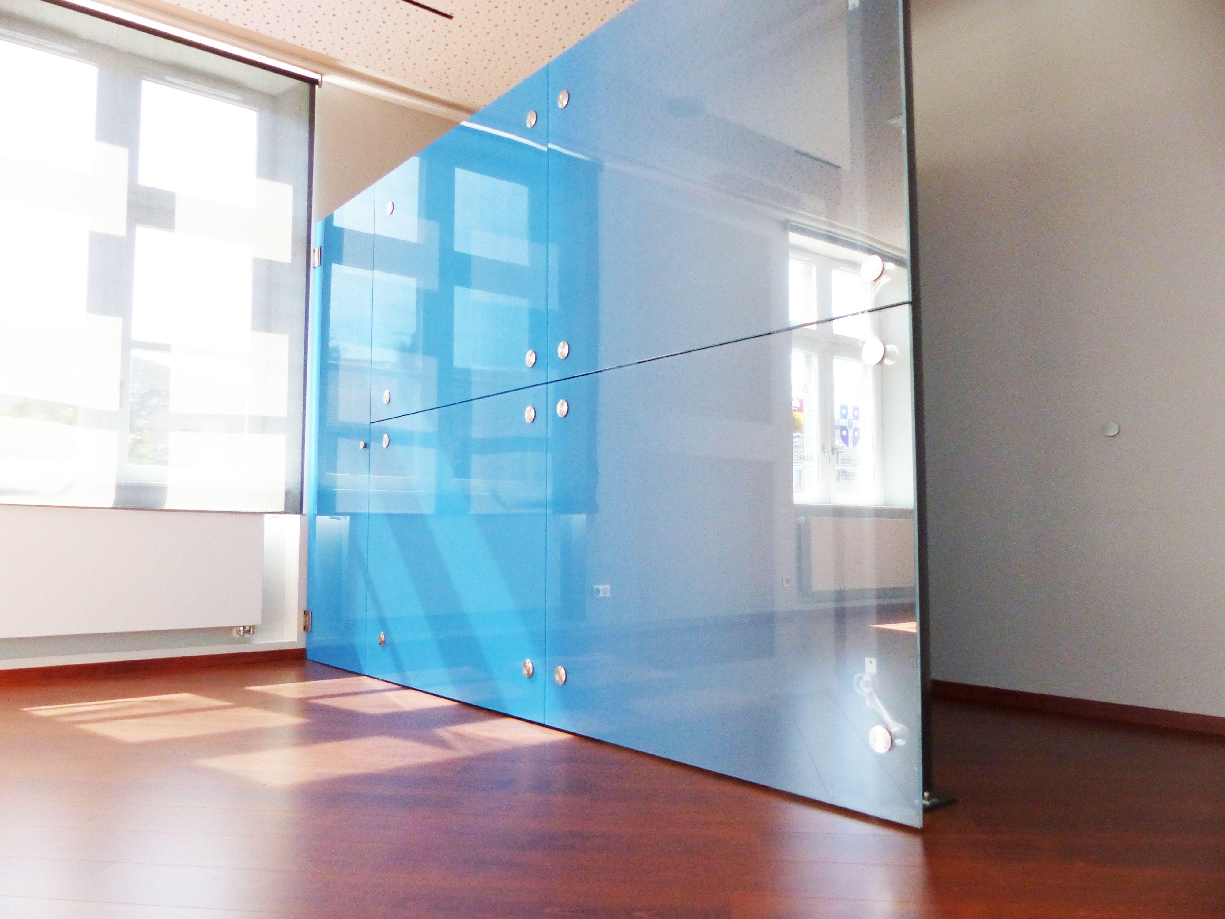 cloison en verre feuillet avec insertion film couleur partition glass made from decorative. Black Bedroom Furniture Sets. Home Design Ideas
