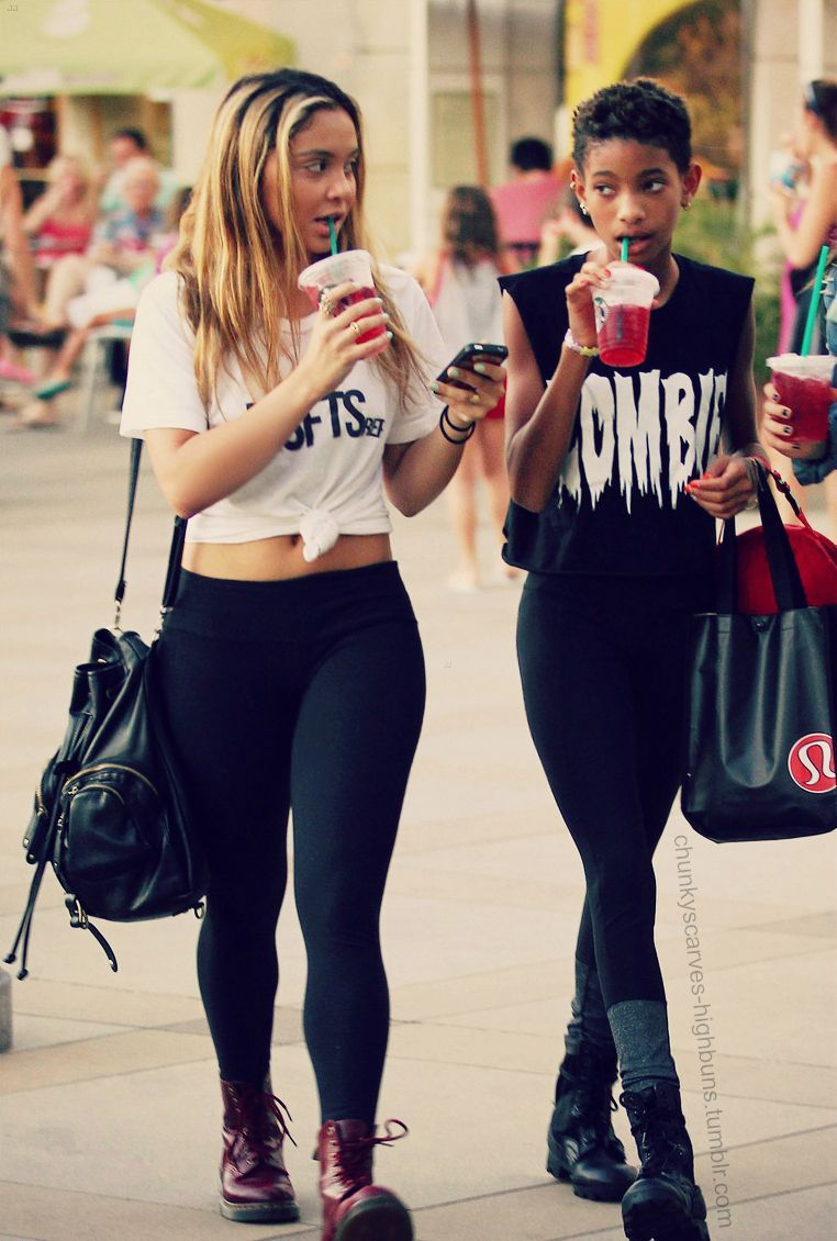 stella hudgens and willow smith girl swagg