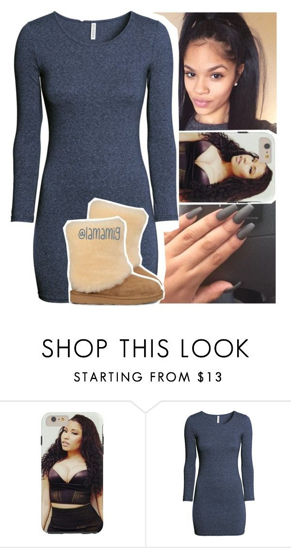 """still no tb.."" by lamamig ❤ liked on Polyvore featuring H&M and UGG Australia"