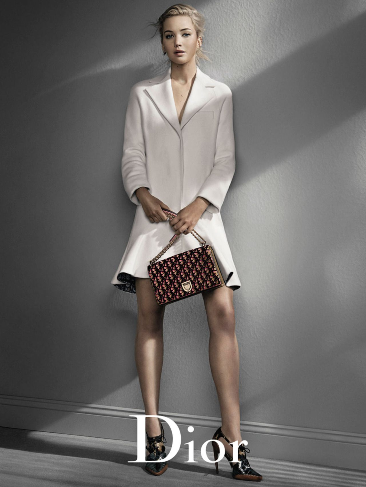 Jennifer Lawrence by Patrick Demarchelier for Dior ...