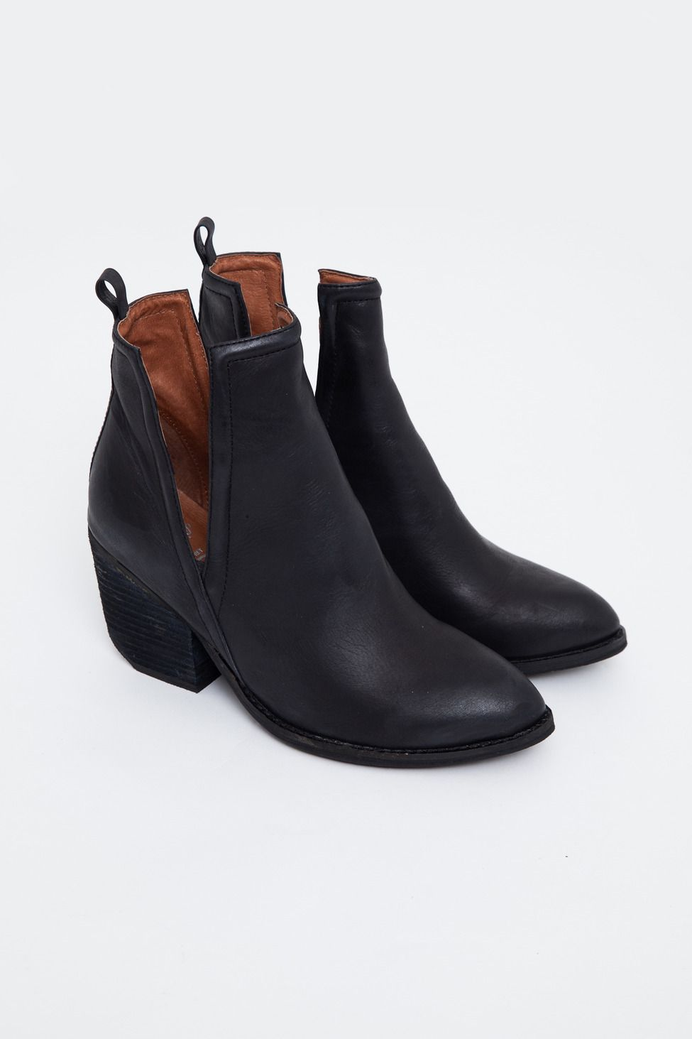 11f23333b78a Jeffrey Campbell - Orwell Open-Side Ankle Boot